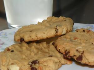 mini peanut chip cookies