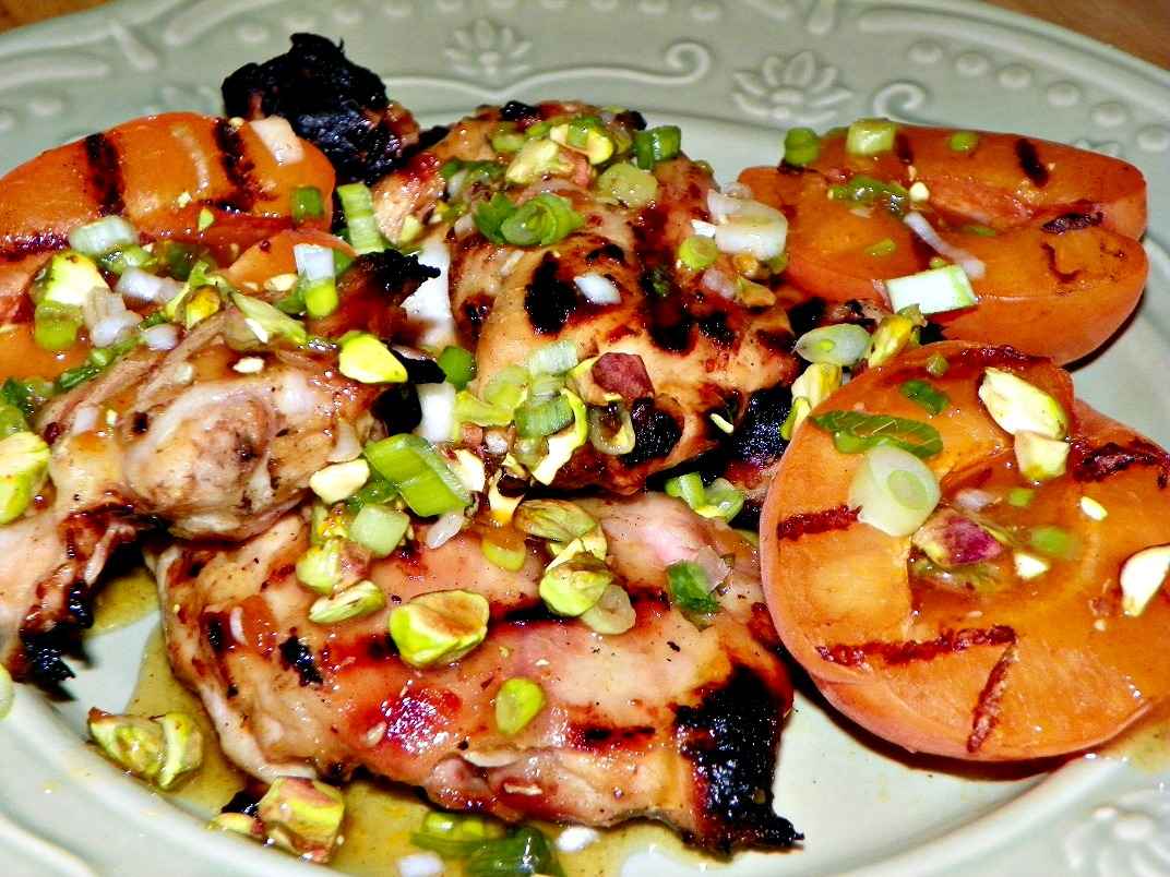 Golden grilled chicken thighs with apricots.jpg