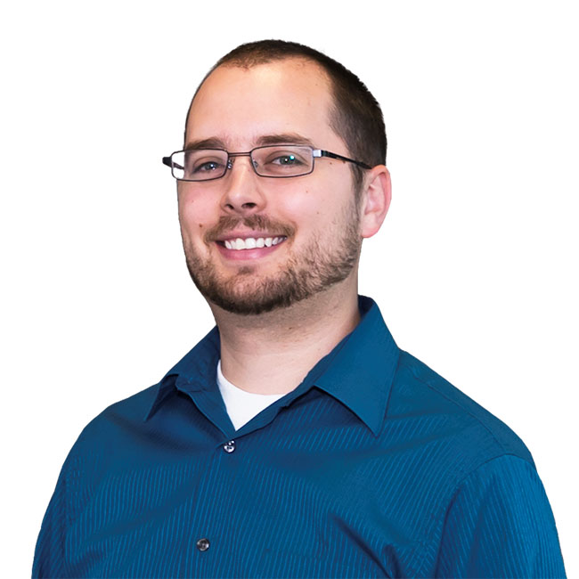 Alex Ecton, BSEE Project Manager   Alex is of the upcoming breed of skilled engineers who display strong proficiency designing directly into BIM software. Because he is efficient in REVIT and other BIM-related software, he can design his own projects directly into the design team's REVIT models without the use of a designer/drafter and save time under aggressive deadlines. Alex manages higher education, municipal, and commercial projects. Alex is a total movie and science junkie. We still like him.