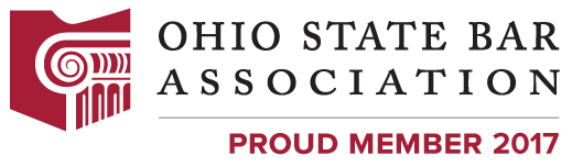 OHIO STATE BAR ASSOCIATION logo PROUD MEMBER 2017
