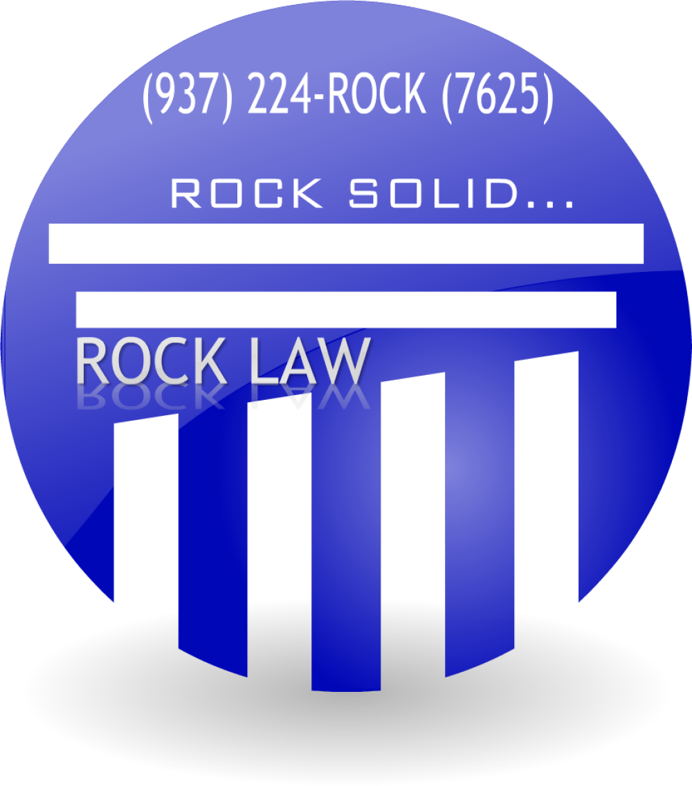 ROCK LAW OFFICE logo RRock Solid....224-ROCK (7625)