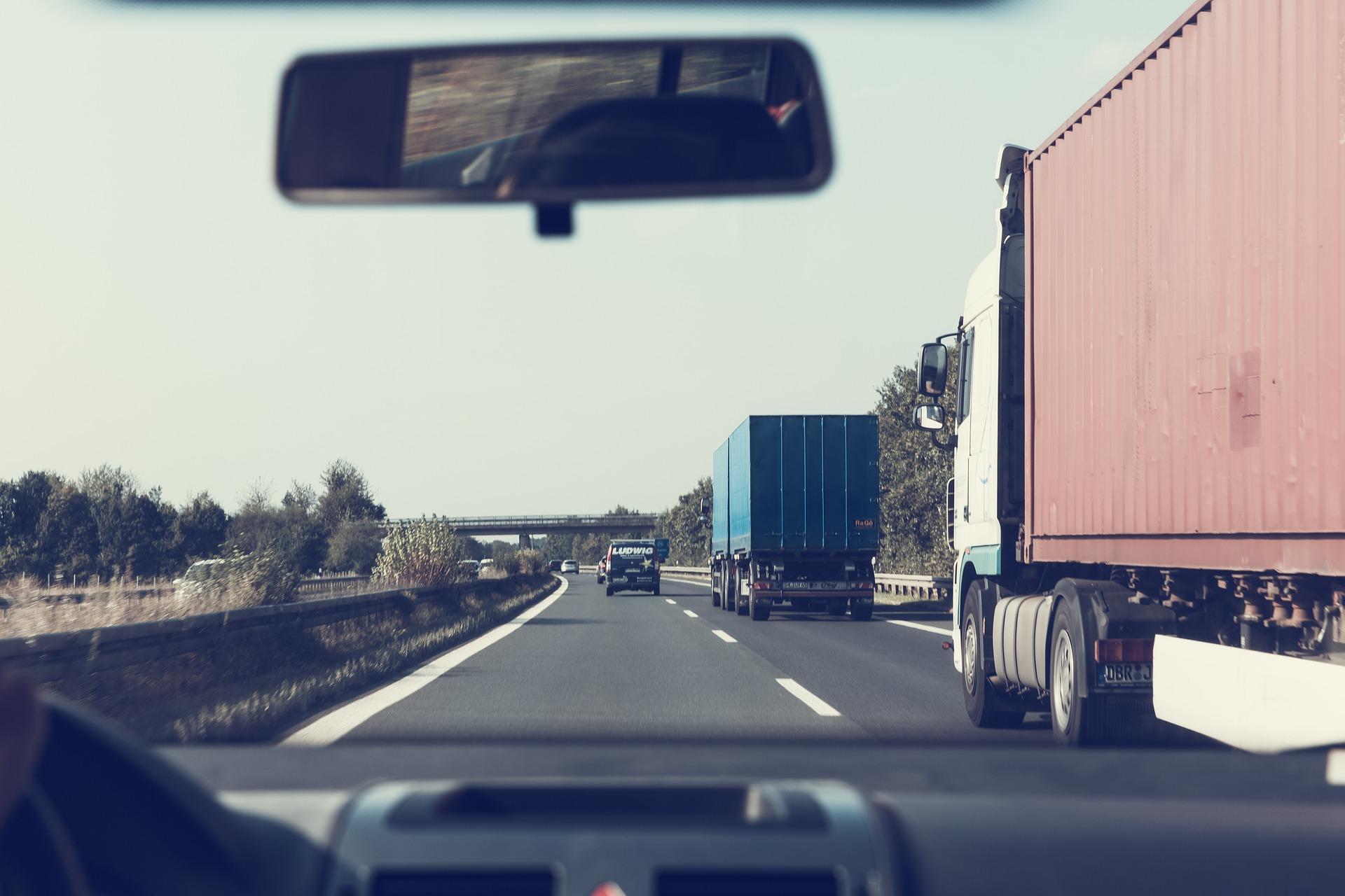 Large trucks and car driver needing a personal injury or wrongful death attorney