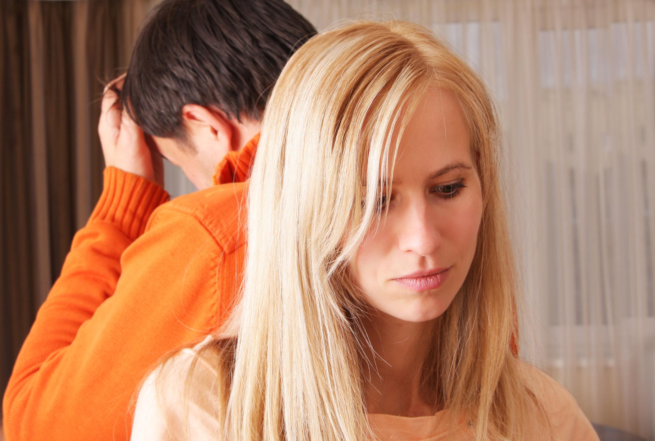 Quarrel between men and women