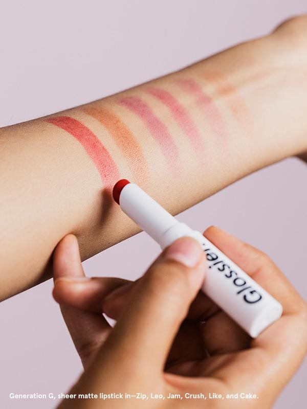 Glossier Generation G Sheer Matte Lipsticks