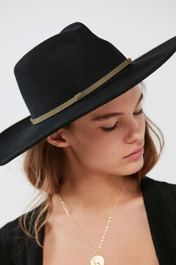 Urban Outfitters Georgia Wife Brim Rancher Hat