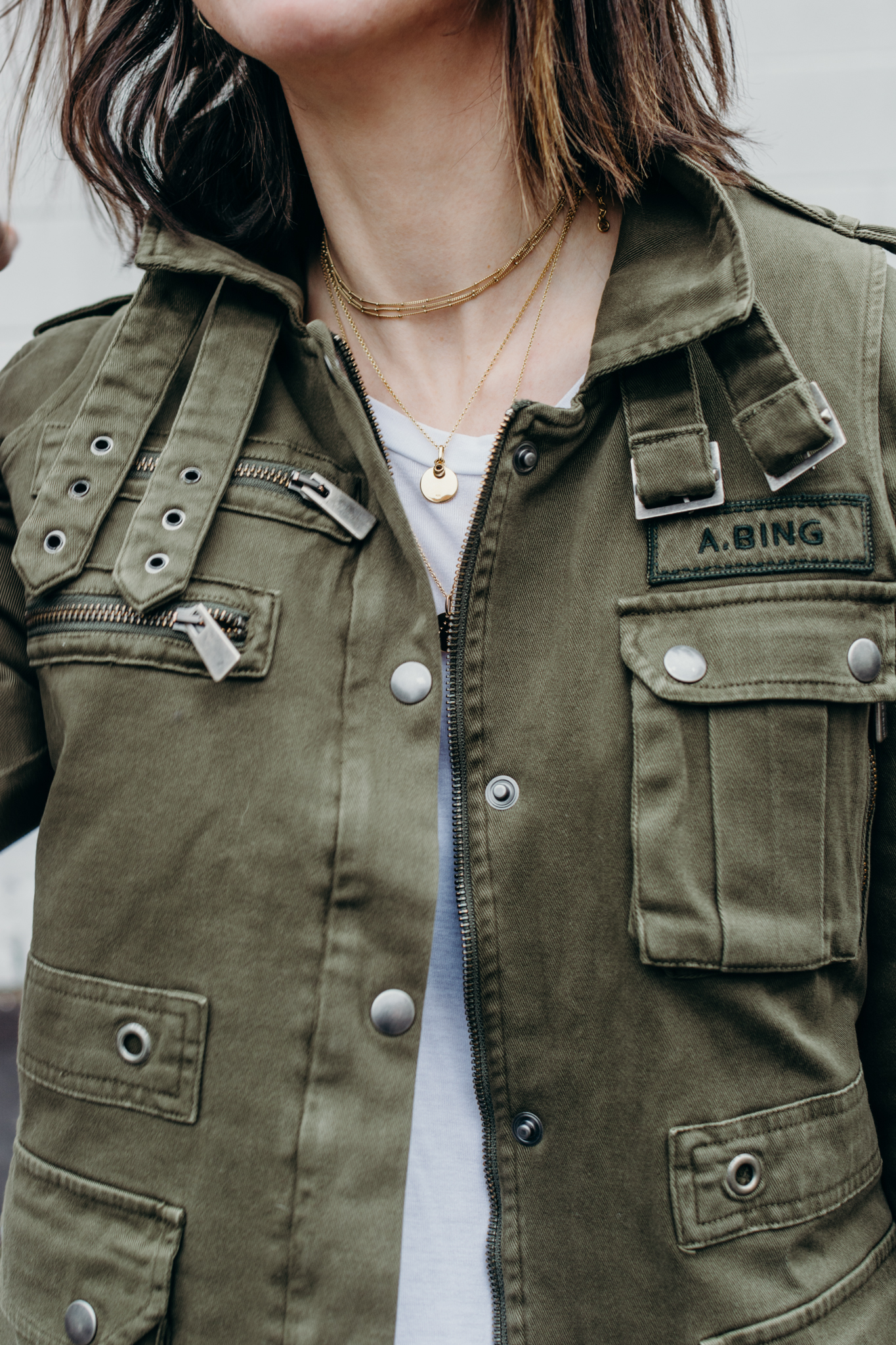 anine bing military jacket anine bing low charlie boot zara leather pants style apotheca