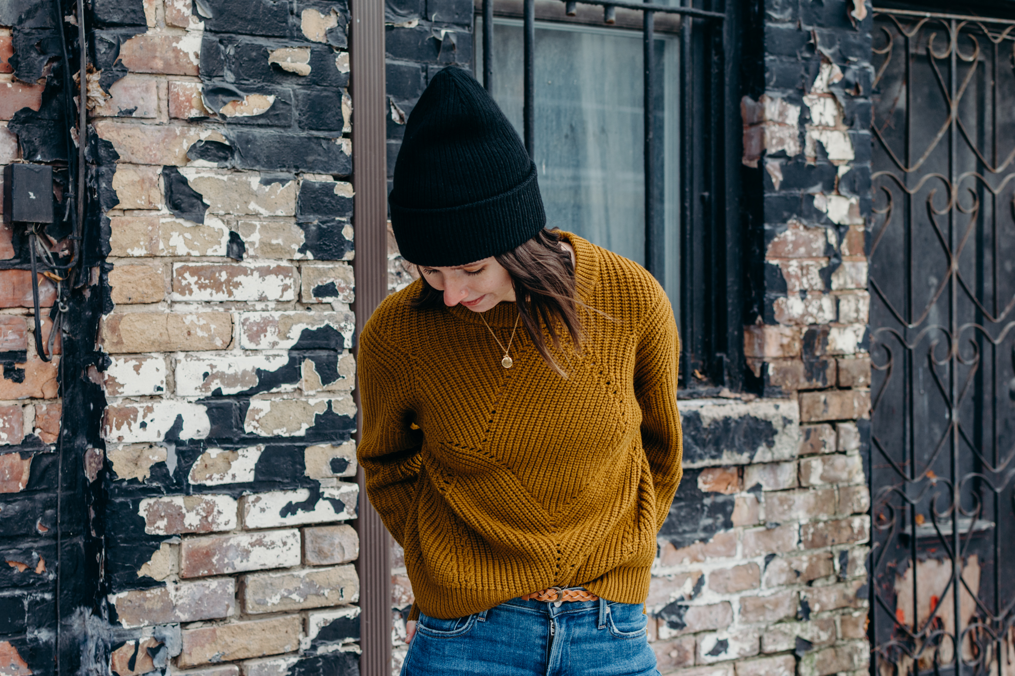 wilfred artizia serment sweater citizens of humanity rocket skinny jeans blundstone style outfit women - style apotheca