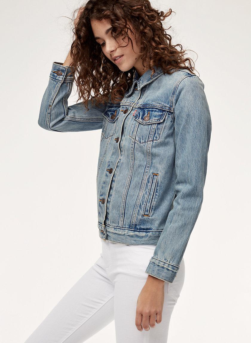 LEVIS boyfriend denin jacket blue aritzia