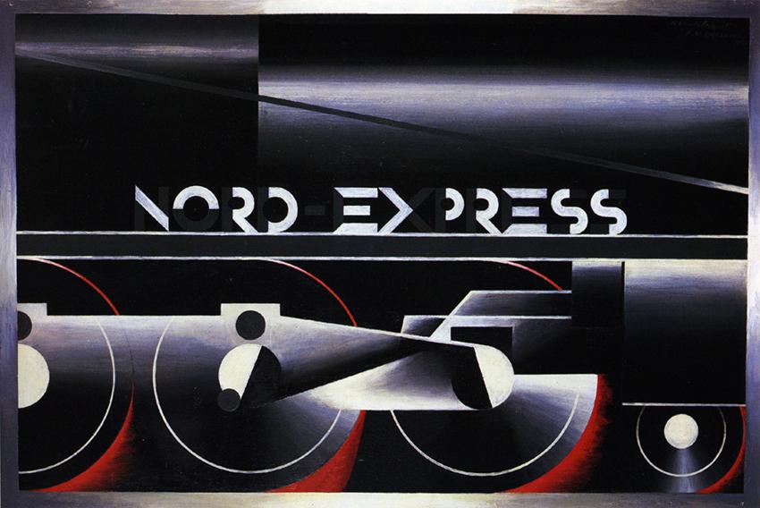 A.M. Cassandre channeling powerful retro-futuristic Funk