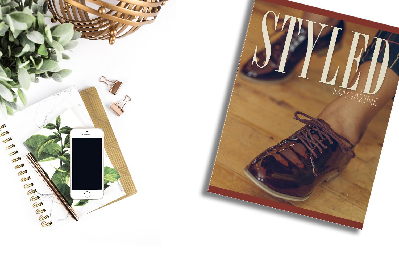 styled magazine - magazine launch