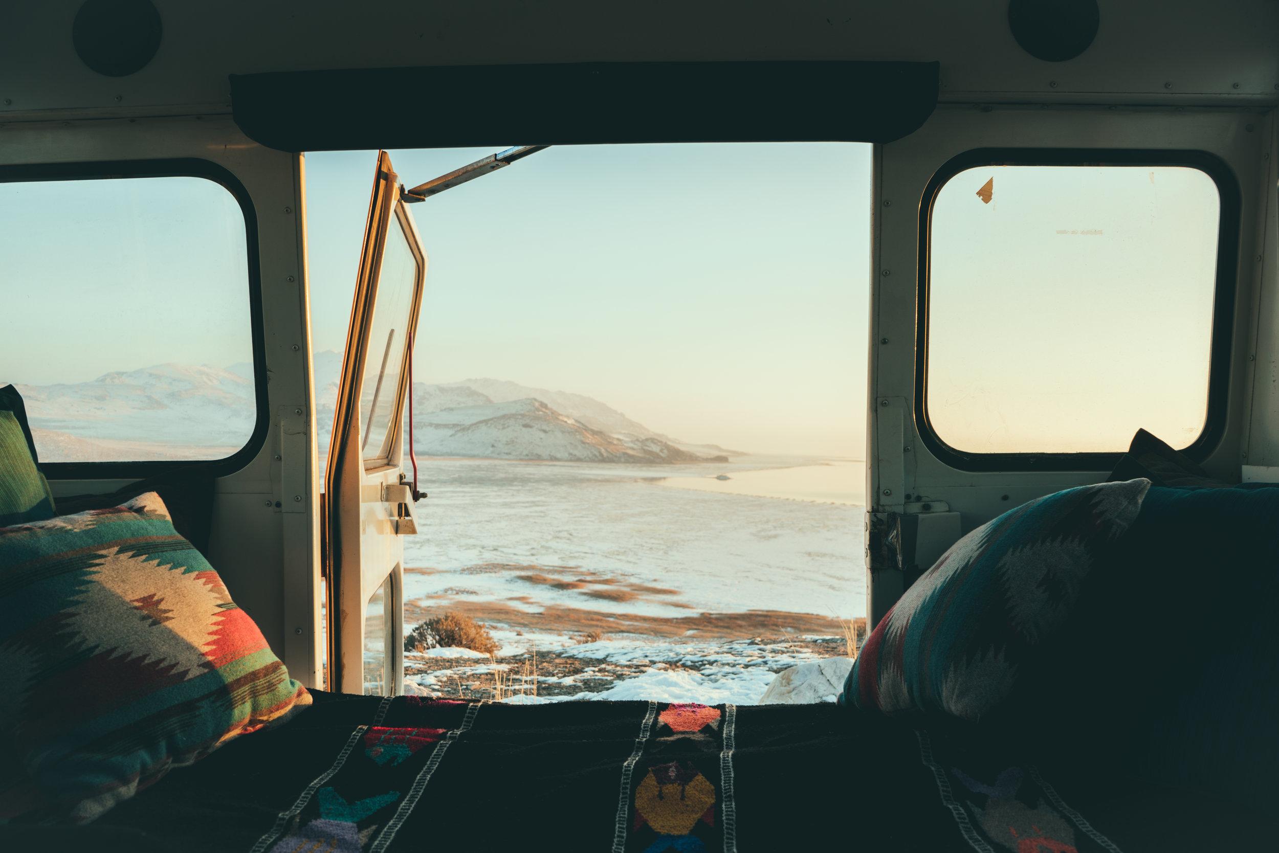 Vanlife Sunset - Sasquatch the Bus