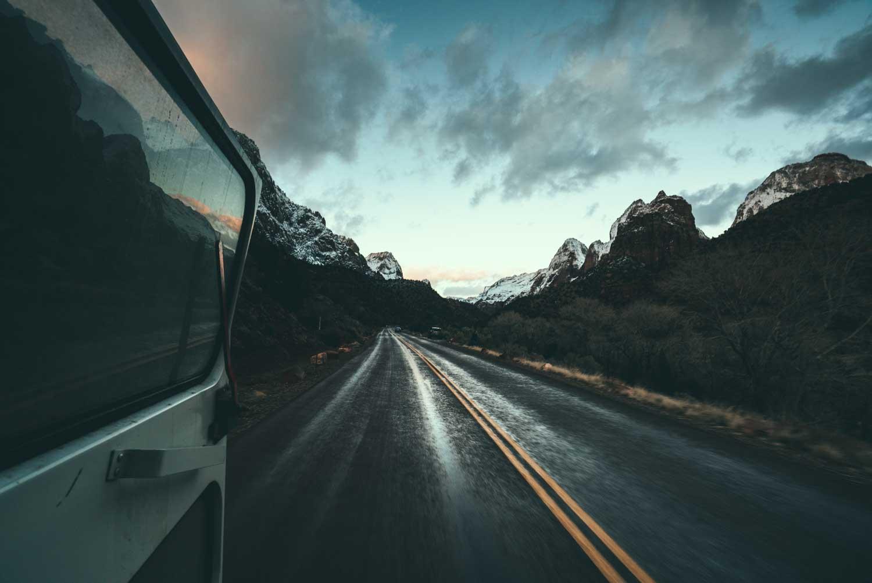 zions national park-sasquatch the bus