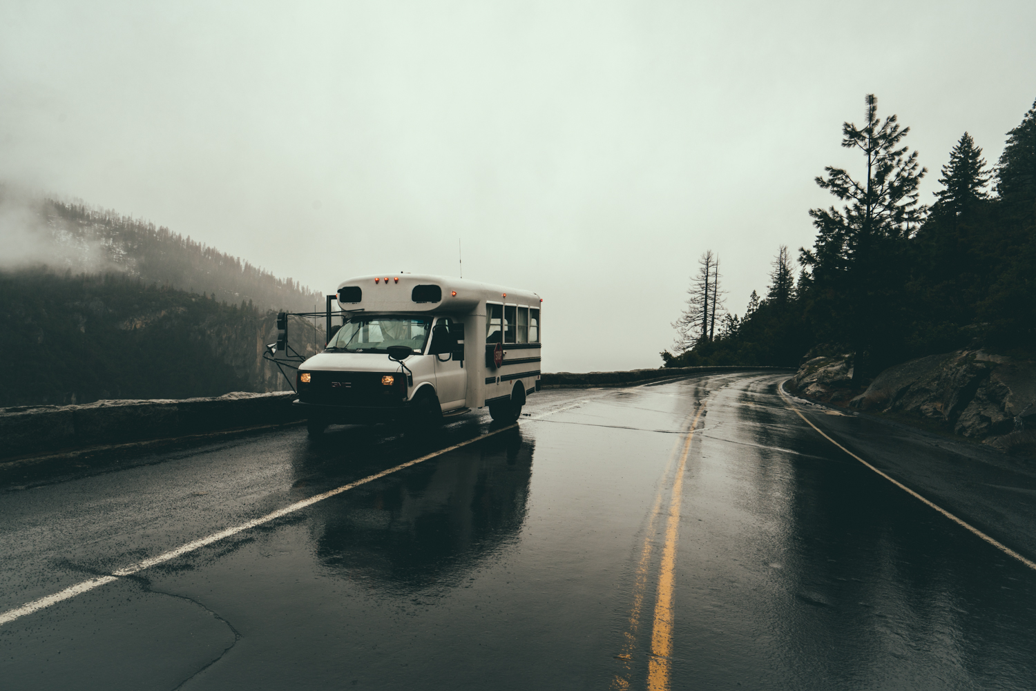 Wet Roads - Sasquatch The Bus