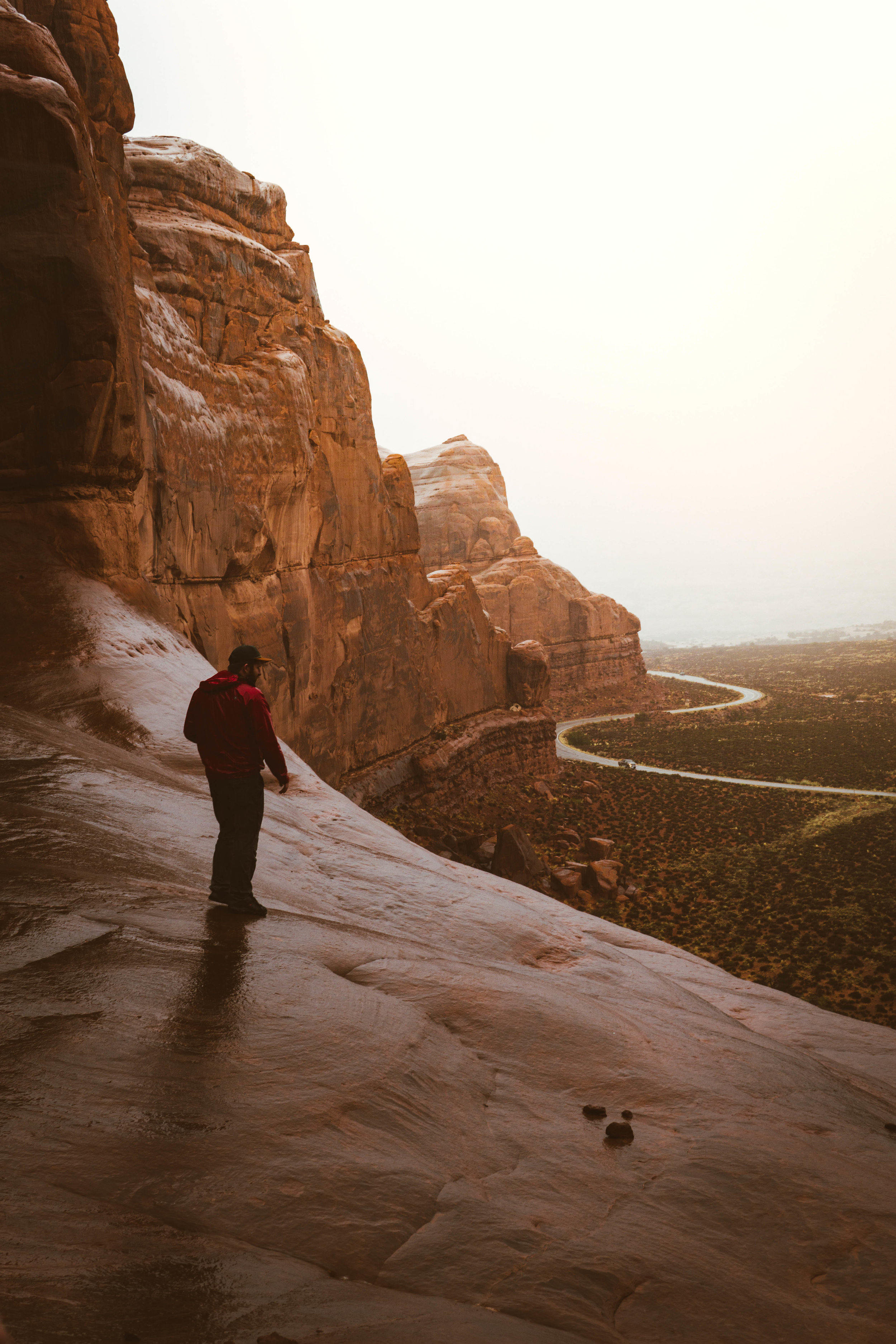 vanlife in arches national park