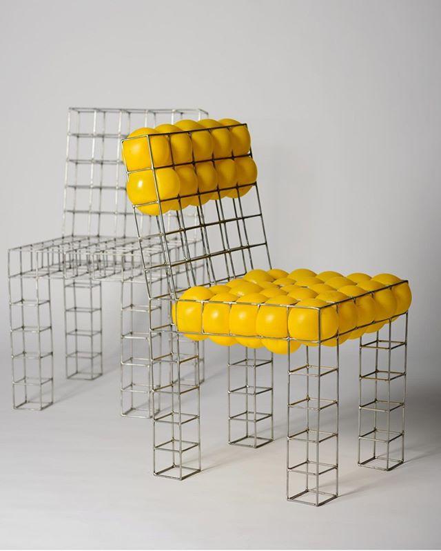 When a creative artist designs 😍✨ #ChairHeaven