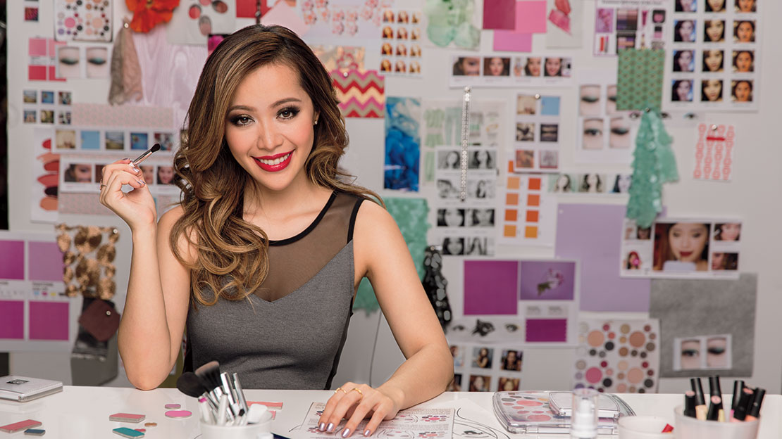Youtube beauty guru Michelle Phan