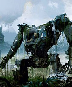 (No joke, the first thing I thought of when Ariel said 'augmented humans' was the giant robot exosuits from Avatar)
