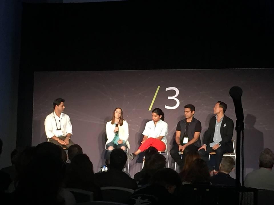 Me, Anna Sweet (oculus), Anarghya Vardhana (Maveron), Anjney Midha (Kleiner Perkins), Clinton Foye (Crosscut)