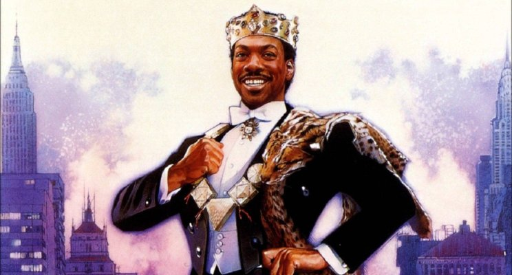 Prince Akeem knew what was up. He started from the bottom (at McDowell's), now he's here.