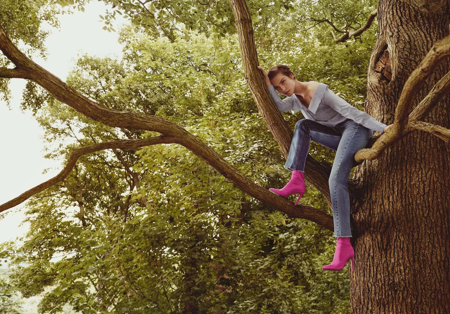 An actual Amazon fashion shoot