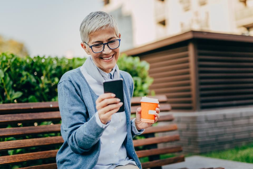 Should brands spend to pursue older customers on social media? It's a tough sell. (Credit: Getty)