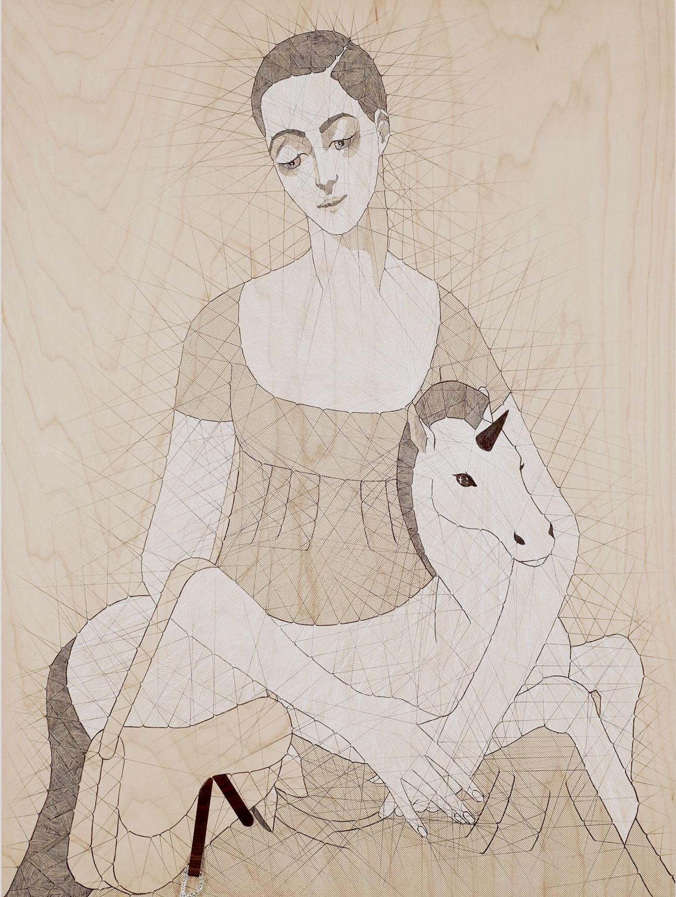 La Vierge et l'enfant, et son Dior, 2008