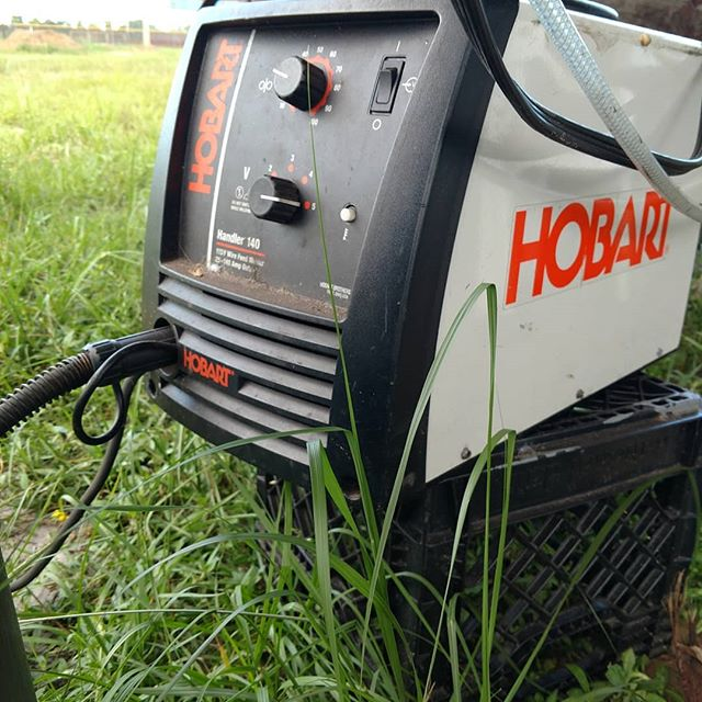 This is one of our hardest working machines this summer. From on-farm machine repairs to helping us create new structures, our welder has been a beast. (Also pictured is another workhorse, our Mitsubishi tractor and loader, which got some support earlier this summer from our welder)  #welder #welding #farmlife #urbanfarm #urbanfarmer #urbanfarming #local #eatlocal #supportlocal #summer #menwhofarm #womenwhofarm #organic #organicallygrown #organicfoods #sustainability #sustainableliving #miami #miamidade #305 #csa #community