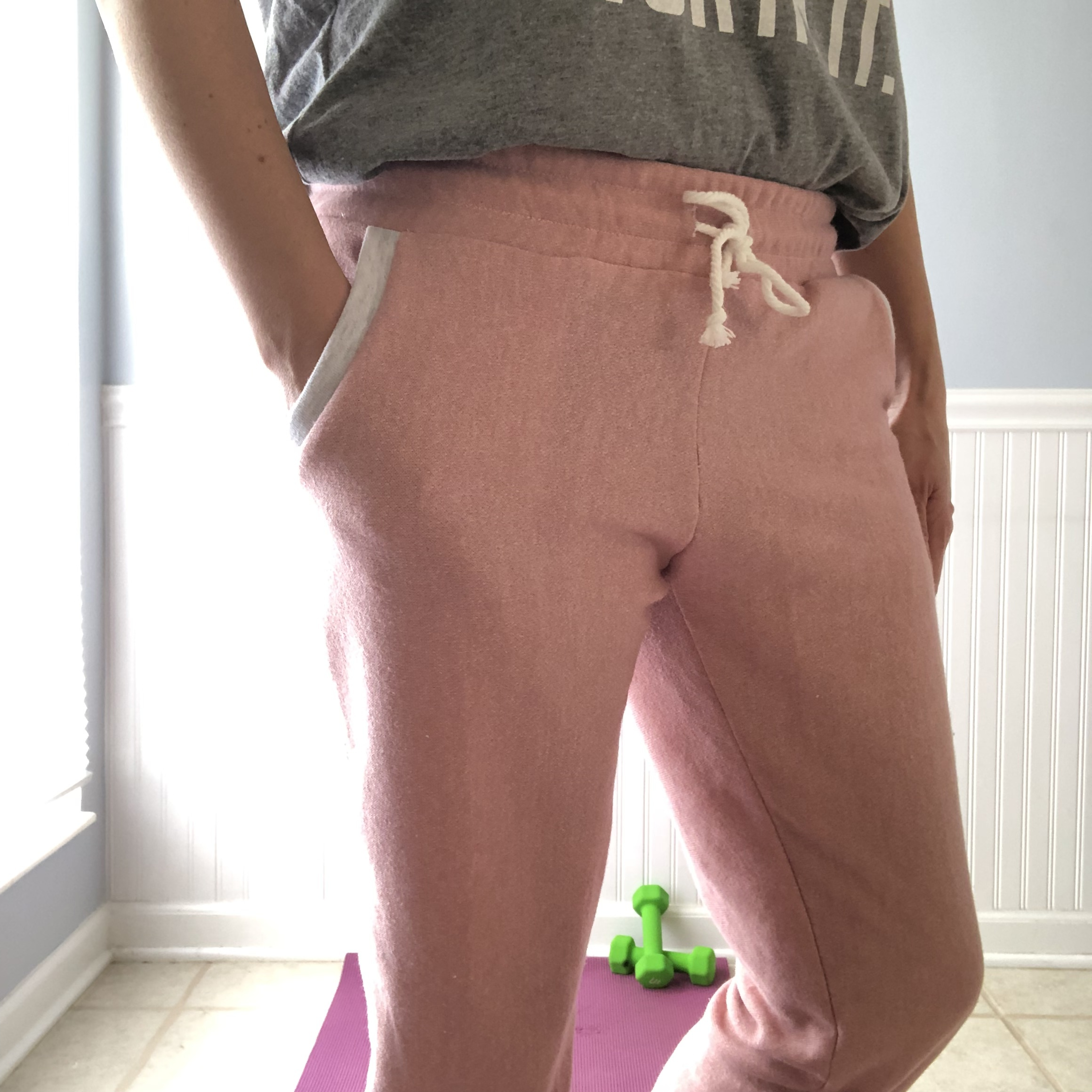 Pattern: Hudson Pants  French Terry Fabric: Raspberry Creek Fabrics