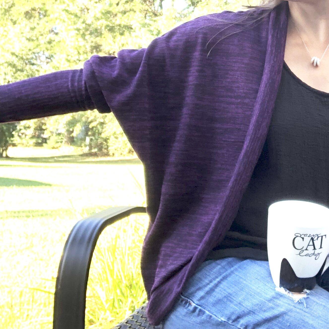 Slouchy Sleeve Carrie Cardigan