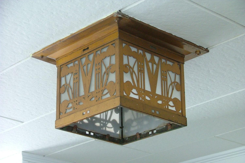Brandon Community House light fixtures