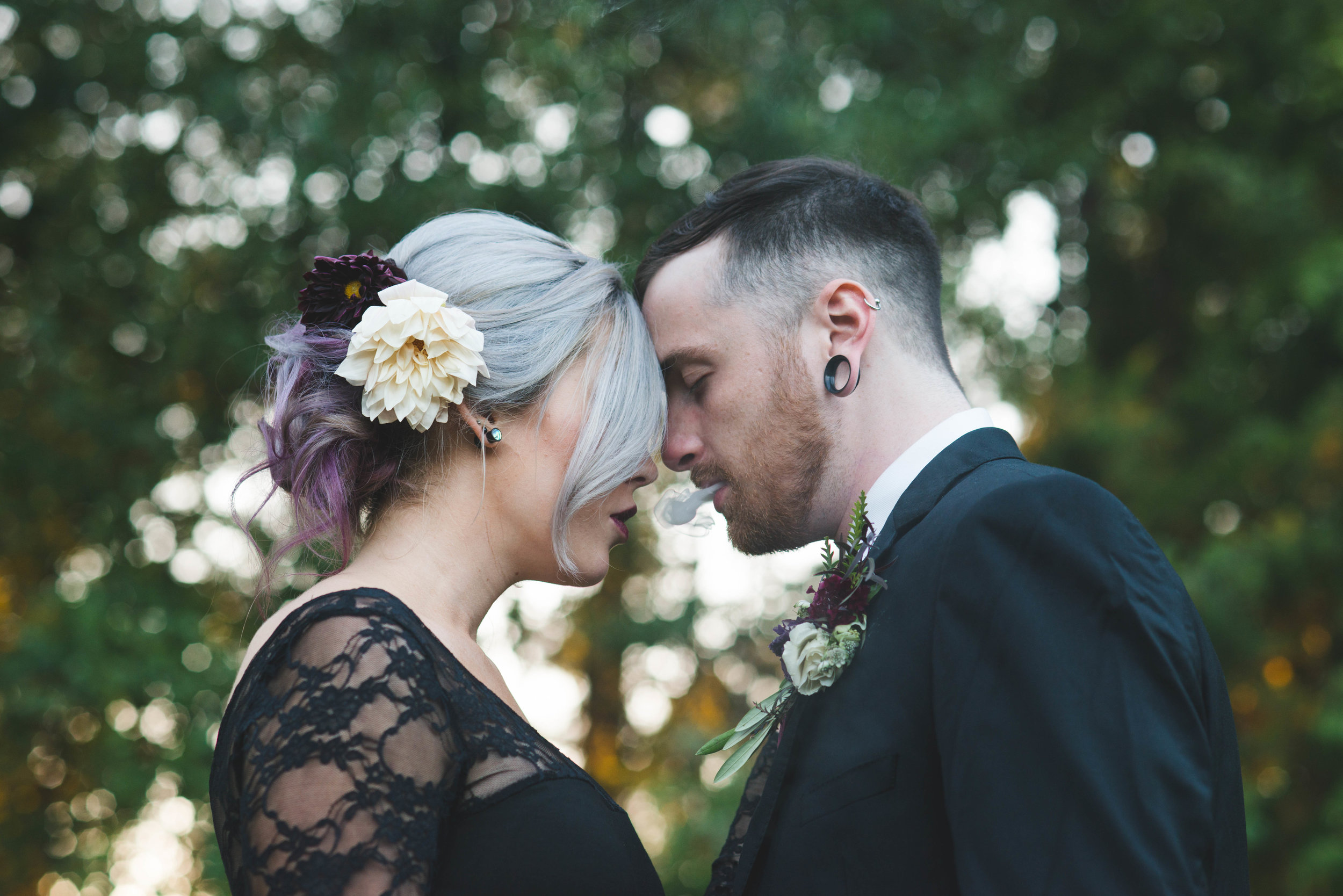 Halloween Wedding in LaGrange Ga by Atlanta Wedding Photographer B. Rich Photgraphy