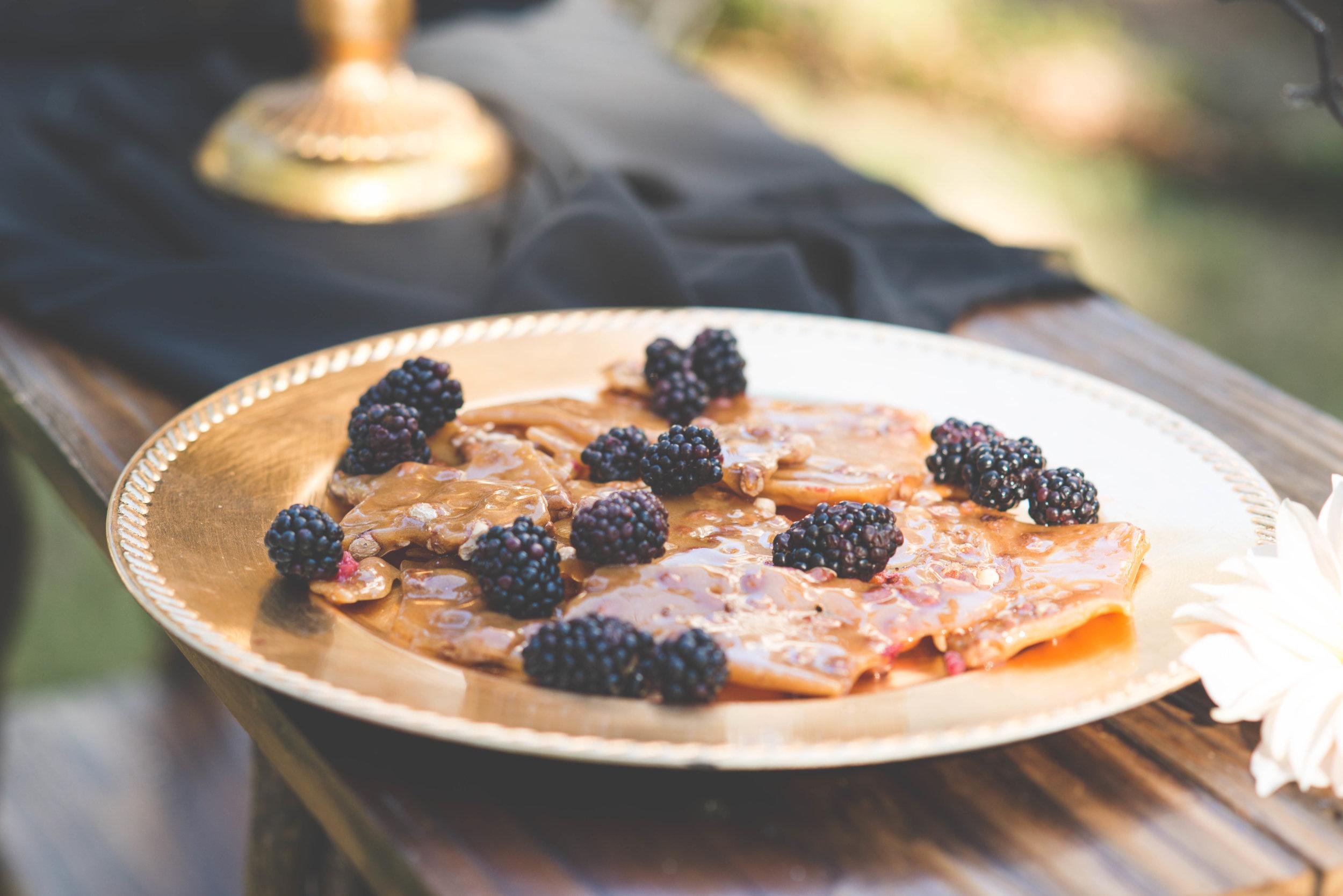 Dessert Table for Halloween Inspired Wedding