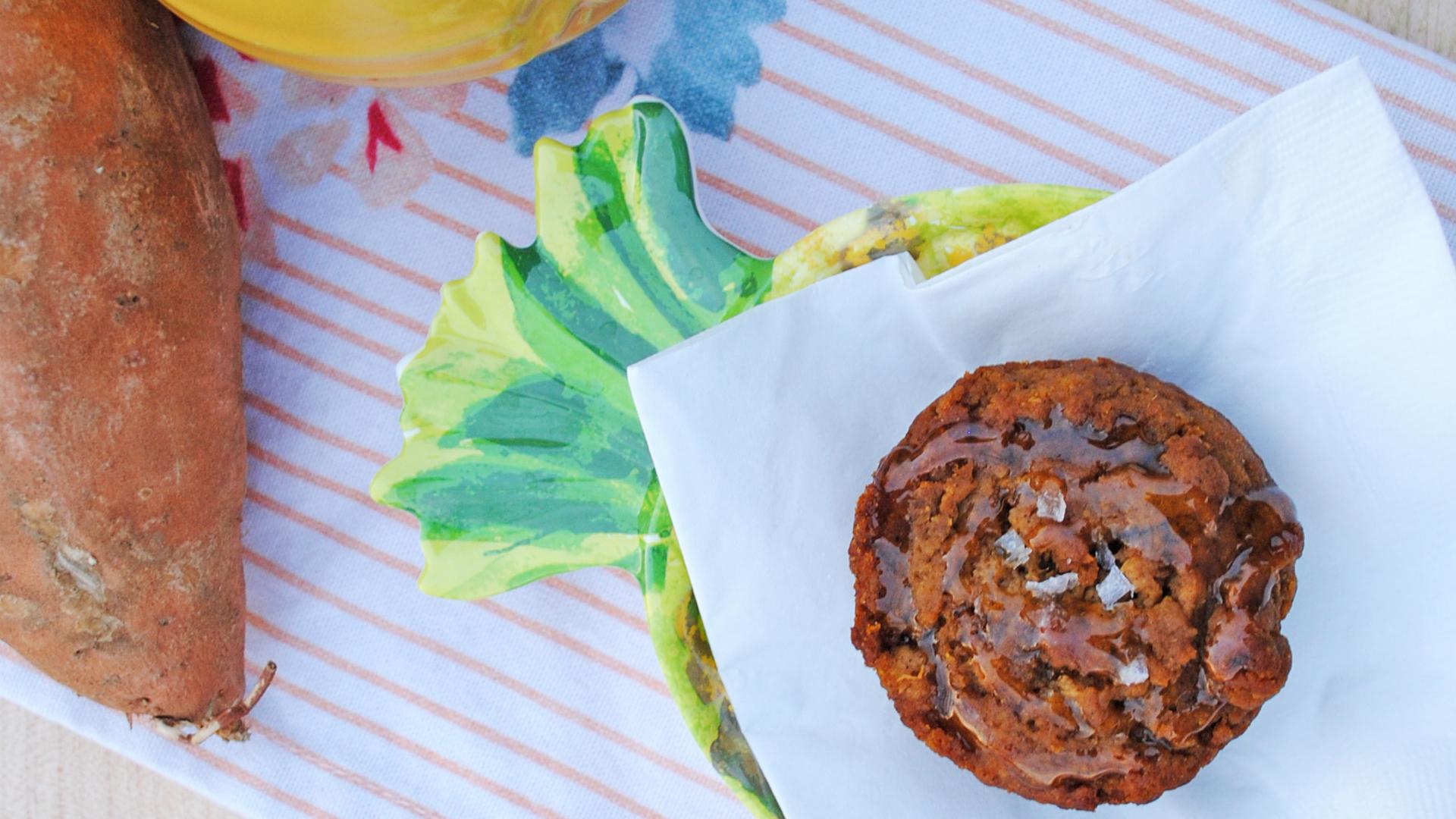 Spiced Sweet Potato Muffin