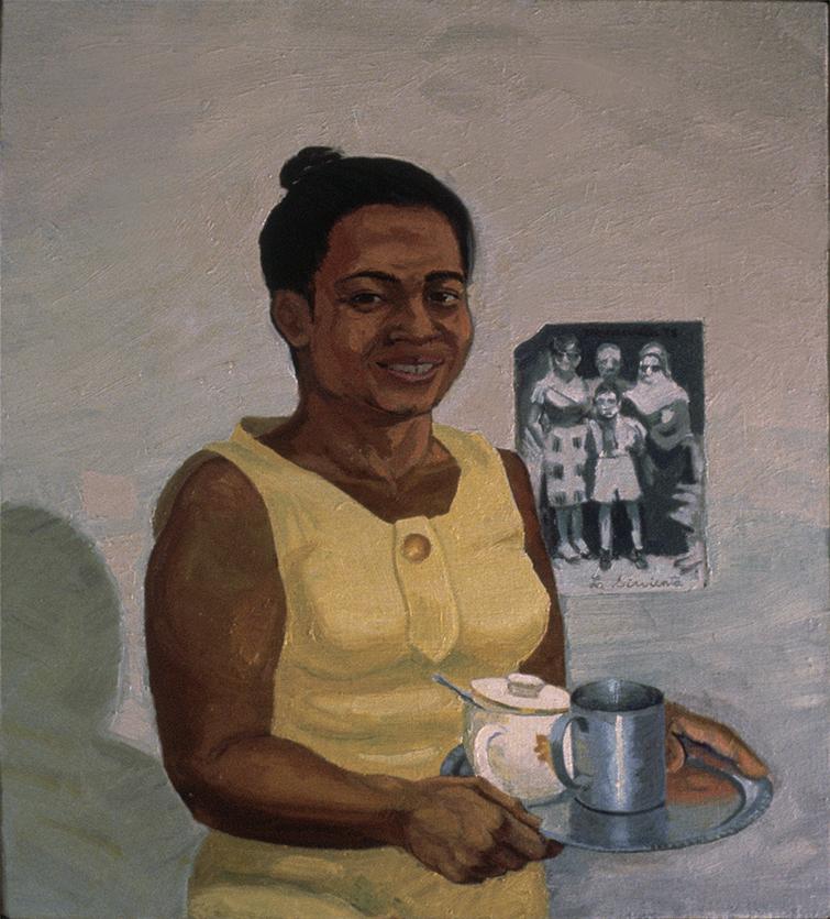 """Ramona, 1978. Oil on canvas. 24"""" X 22""""."""