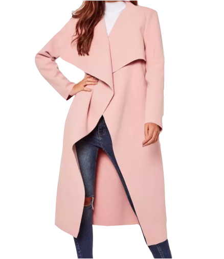 Missguided Pink Coat