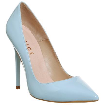 Office Blue Heels