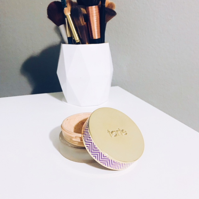 tarte hybrid gel foundation - I came across this foundation at Ulta and never even knew it existed before than. I tried a bit out on my hand in the store and instantly fell in love with the consistency and coverage. It has a mouse like texture and a little bit goes a long way. The coverage is totally buildable but I do think it's more on the medium to full coverage side, which I love! The color I got is called light neutral. This foundation feels like you have no makeup on even though the coverage is amazing and I also love the dewy finish it leaves my skin with. This is a product I use very carefully because I never want it to run out. I actually also got this same one for my mom as a gift and she loves it so much she already told me that she'll want another one once this one's out.