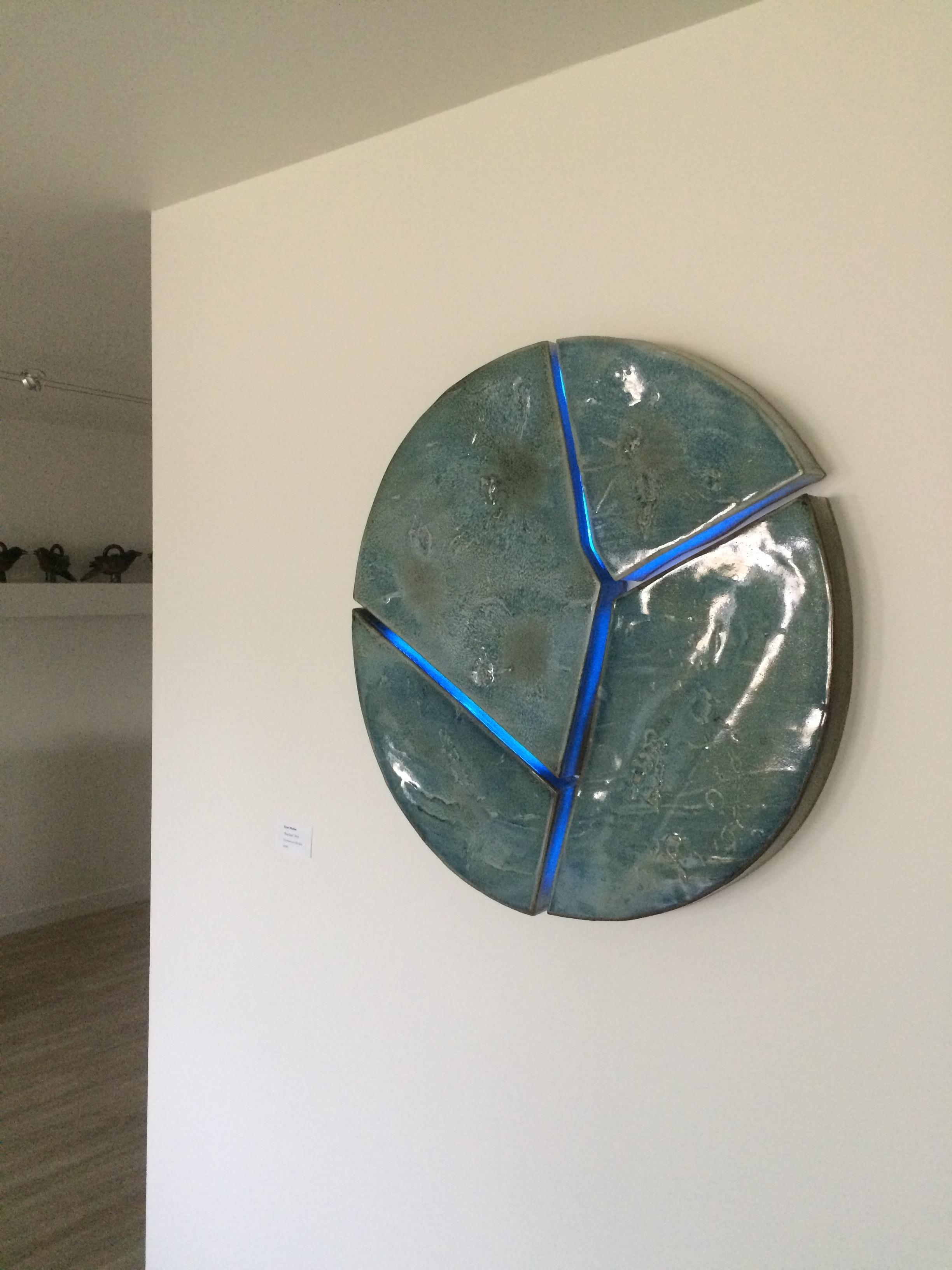 Eyan Mullet's ceramic wall installation