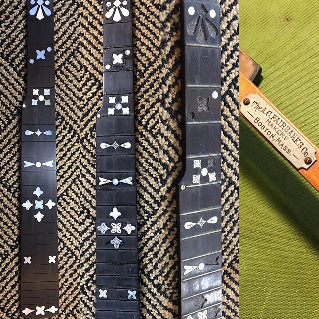 #fairbanksbanjo #luthier #vermont #pearl #banjo #repair