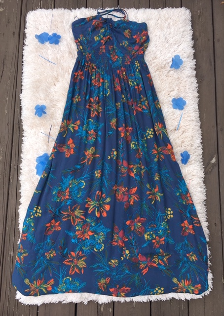 This Free People Floral Maxi Dress sells for $108.