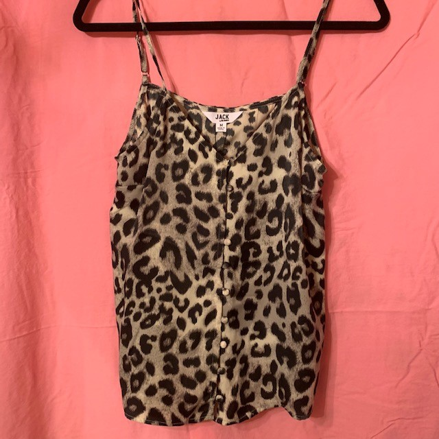 So Stylish🐆 Pick up the Jack by BB Dakota Force of Nature Cami at Venue for $48.