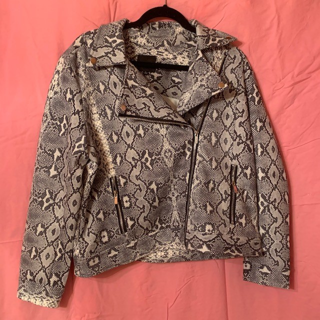 You can't go wrong with some stylish scales. Grab the Liverpool Snakeskin Moto Jacket for $119 next time you're in Venue.