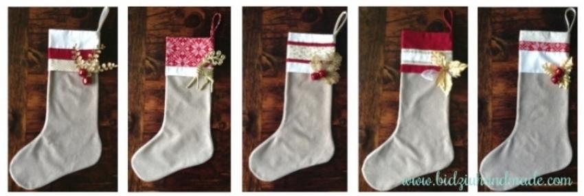 custom made Christmas stockings, burlap Christmas stockings, modern Christmas stockings, red Christmas stockings, cream Christmas stockings, gold Christmas stockings, handmade Christmas stockings,