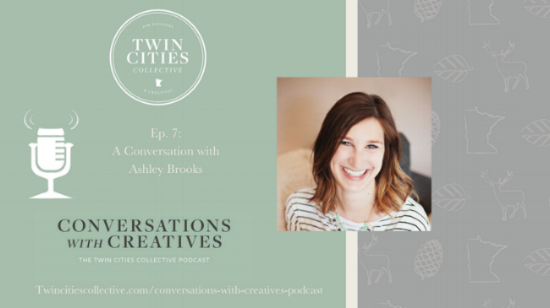 Conversations with Creatives podcast, an interview about freelancing and running a podcast