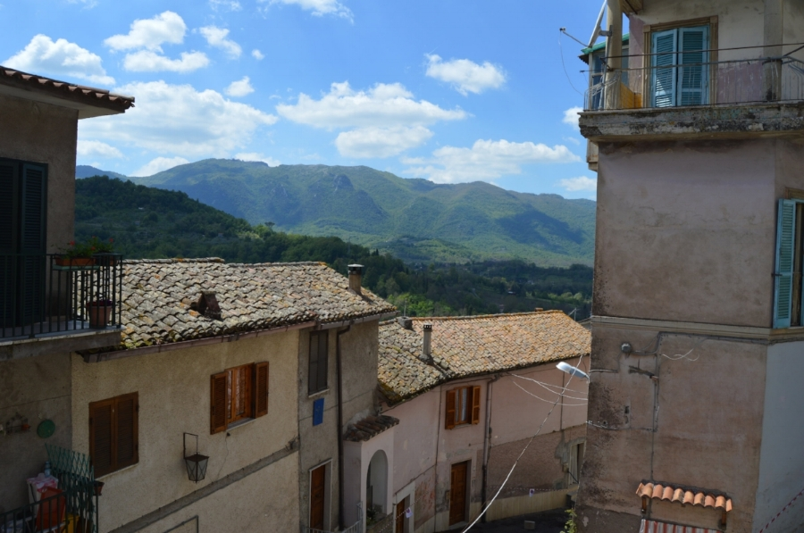 My first destination after quitting my job - a small village in Italy called Gerano where no one spoke English