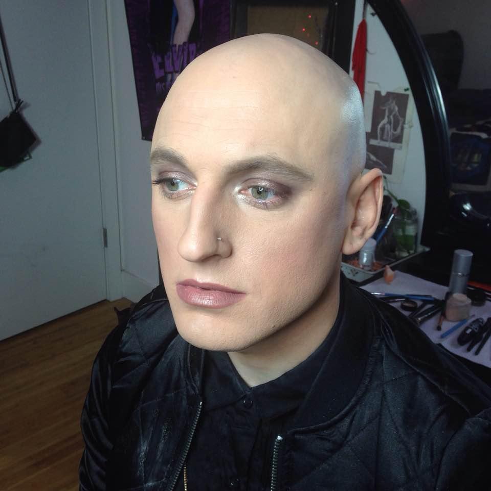 Model:  JP Anne Giera   Makeup:  Slater Stanley