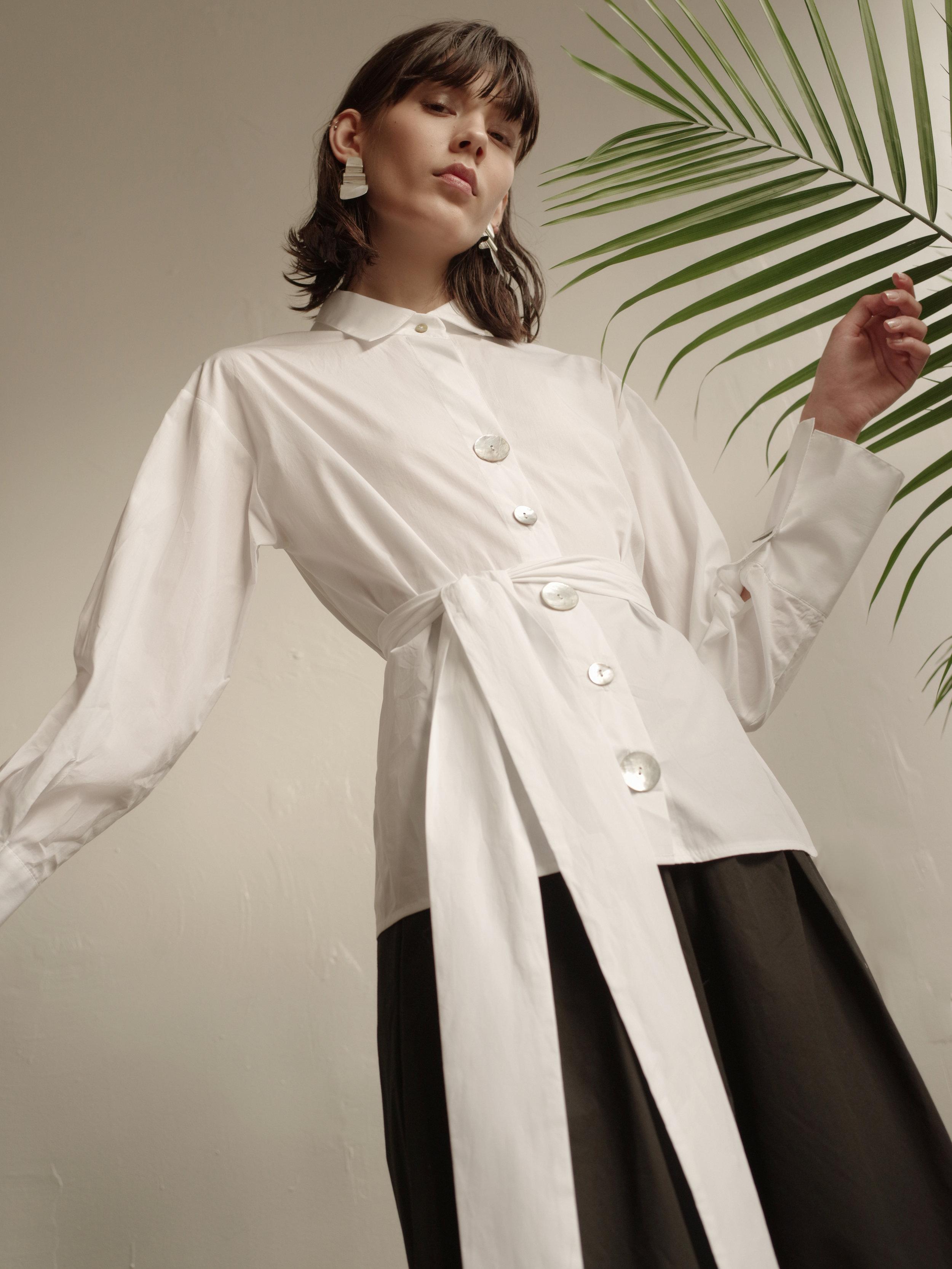 Clothing:  Style Mafia   Photography:  Ace Amir   Styling:  Jahulie Elizalde   Model:  Ewa Wladymiruk   Makeup:  Slater Stanley