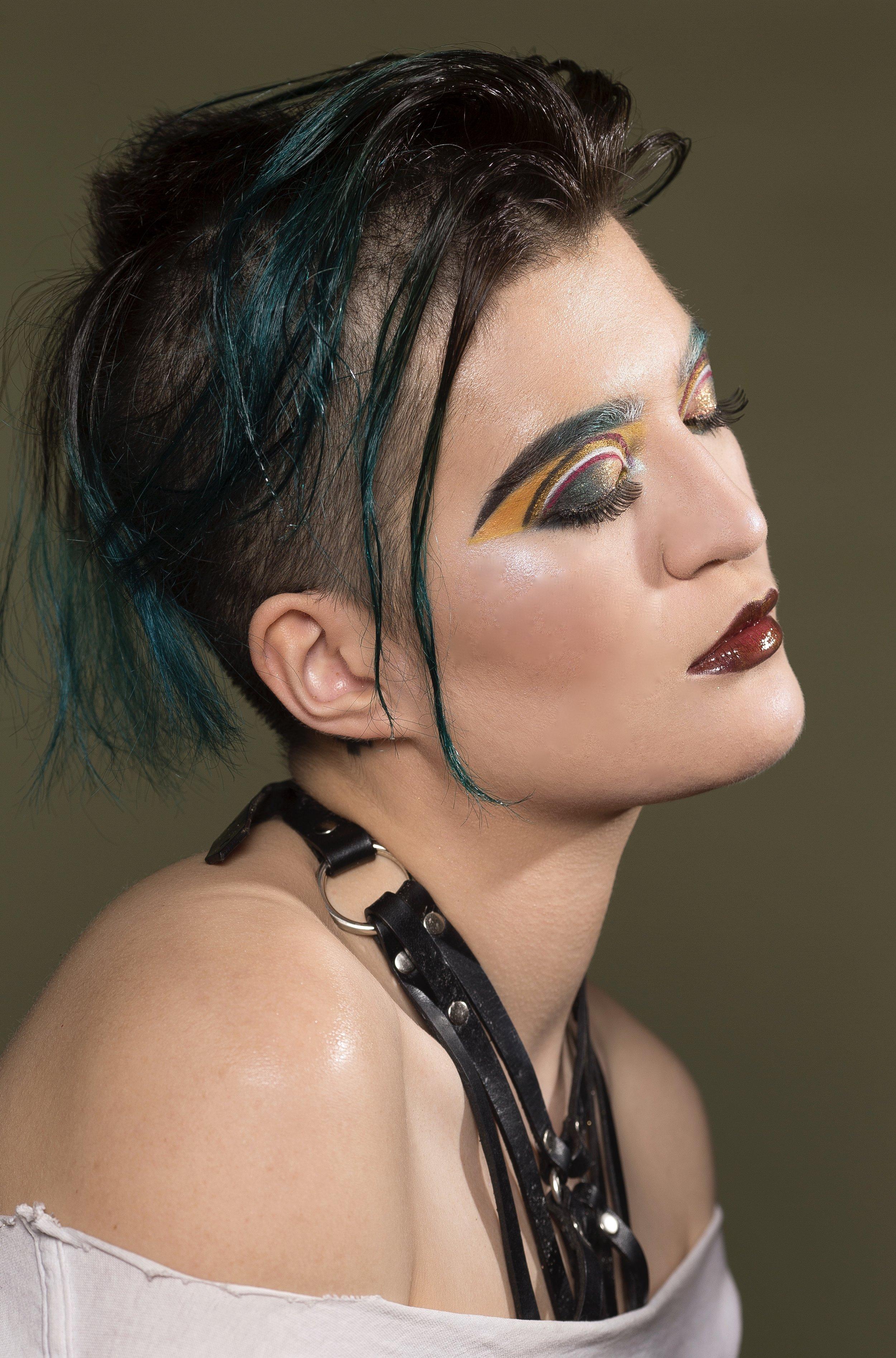 Photography:  Kristiina Wilson   Model:  Arabelle Sicardi   Makeup:  Slater Stanley