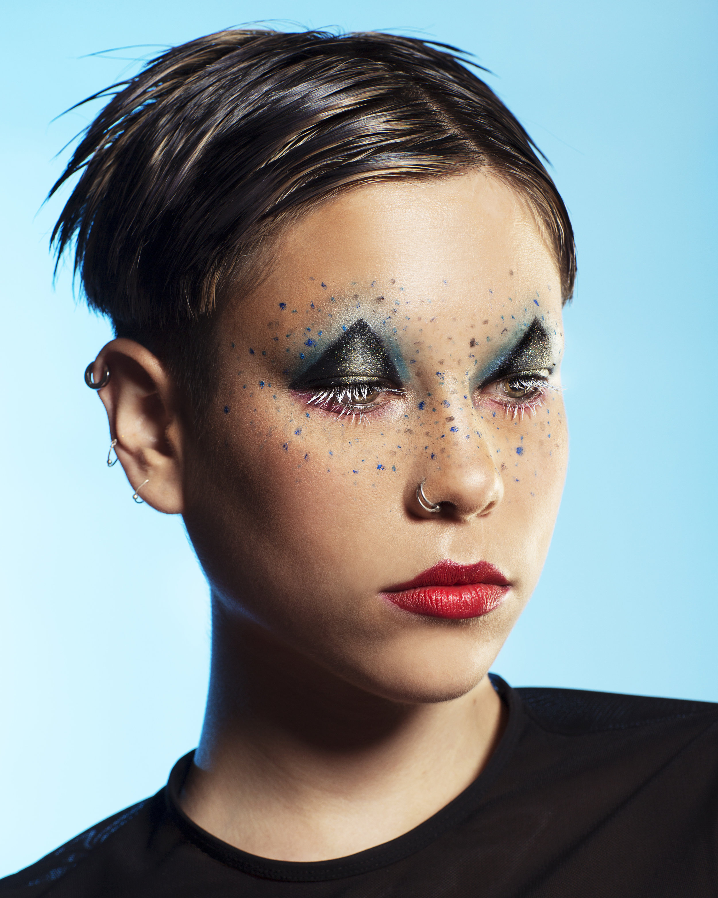 Photographer  :  Tayler Smith   Model:  Cheeky Ma   Makeup:  Slater Stanley featuring  MAC x Chromat  products