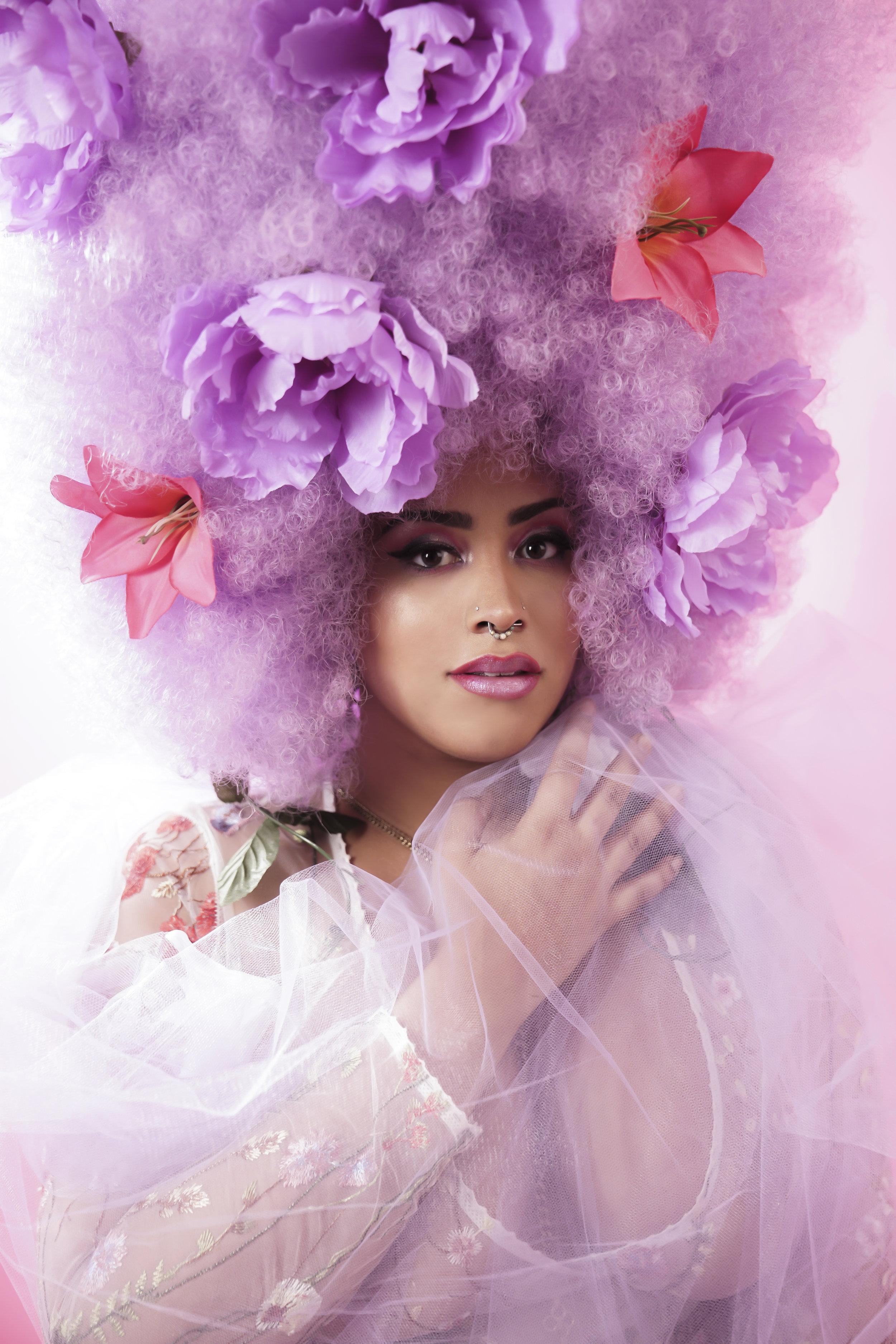 Model:  Karmenife X                                   Photographer:  Ricardo Horatio Nelson   Makeup:  Slater Stanley
